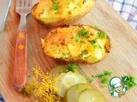 Пикантный фаршированный картофель ингредиенты