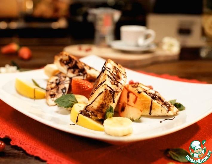 Рецепт: Французские тосты. Десерт на скорую руку