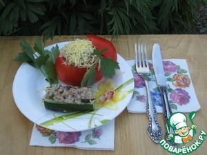Вечерком, после проведенного дня на огороде или даче, просто наслаждение ужин на свежем воздухе!