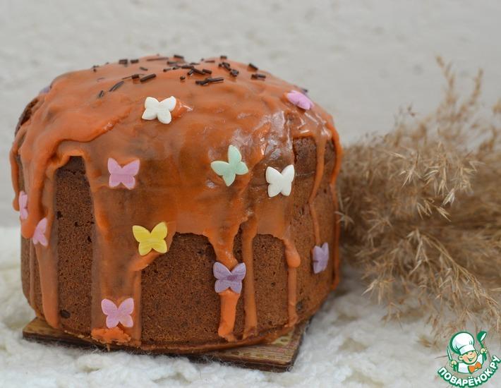 Рецепт: Морковный пасхальный кекс