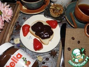 Паста из шоколада готова. Подойдет и как самостоятельная намазка на хлеб, так и как соус к оладьям, булочкам, даже можно использовать вместо крема в выпечке.