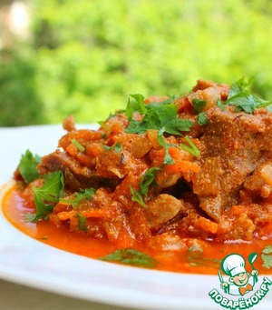 Spread the meat, sprinkle with herbs and serve with your favourite side dish.
