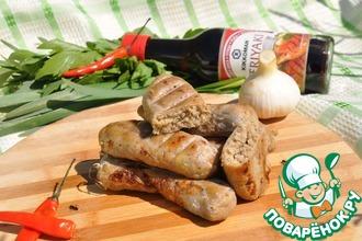 Рецепт: Колбаски-гриль из минтая Походные