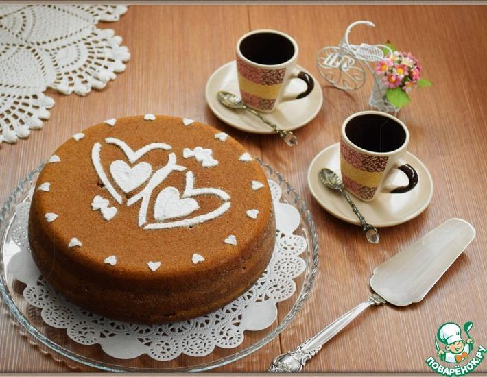 Рецепт: Кекс Кофейная зебра