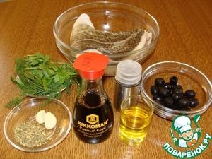 Все ингредиенты для маринада сложить в блендер.