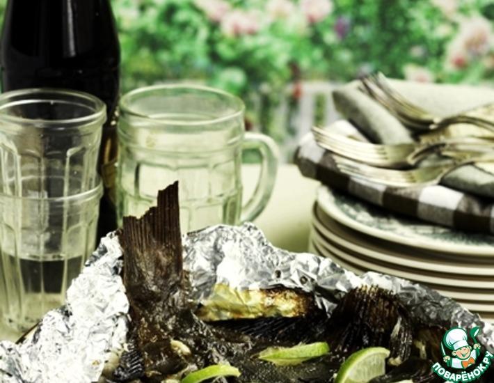 Рецепт: Камбала в маринаде Матадор