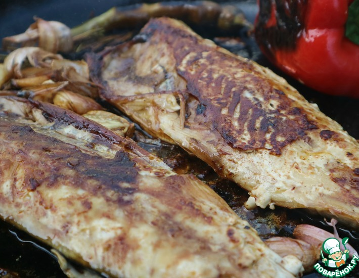 Рецепт: Скумбрия по-турецки Балык экмек