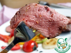 Additionally I want to note that this cold meat is perfect for salads. Thai salads or a salad with roast beef – all cold beef sous-vide is just wonderful! Cook meat in advance without much hassle, you can quickly prepare a delicious treat.
