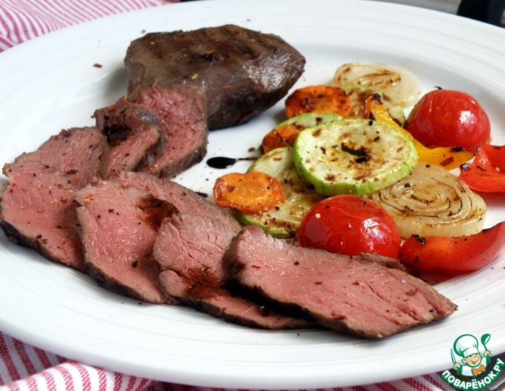 Рецепт: Острая говядина су-вид