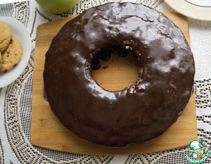 Рецепт: Пирог шоколадный за 5 минут