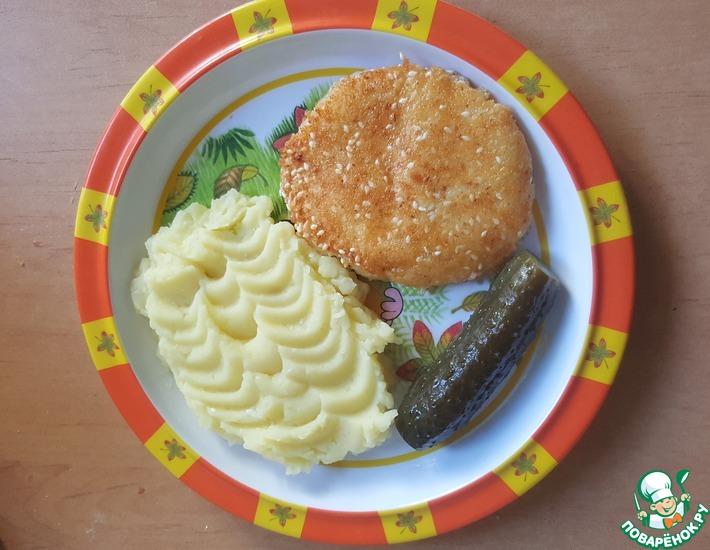 Рецепт: Сырный шницель Балтийский берег