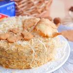 Торт закусочный Грибная фантазия