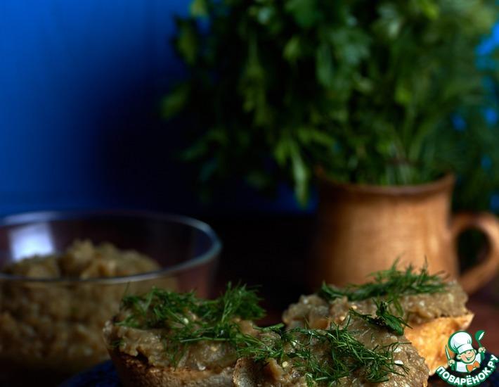 Рецепт: Икра из баклажанов Мутаббль