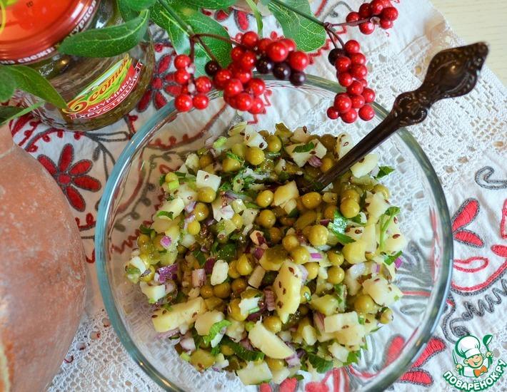 Рецепт: Салат Русское поле