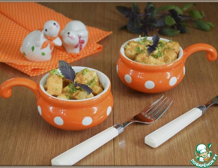 Рецепт: Курица в имбирном соусе