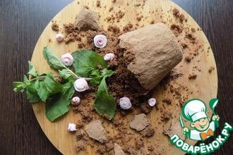 Рецепт: Пирожное ''Мамин любимый цветок''