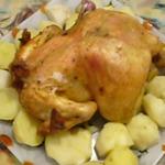 Курица по-старинке