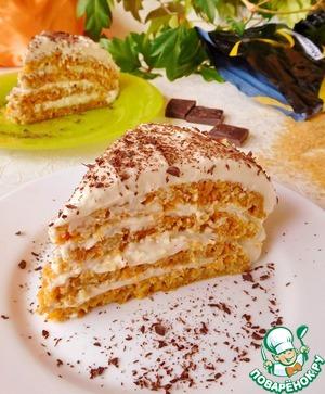 Рецепт: Морковные пирожные на сковороде