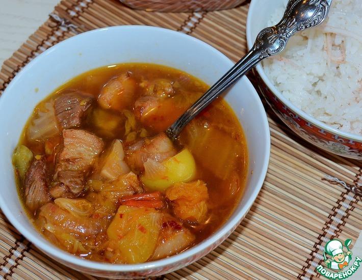 Рецепт: Суп-рагу по-корейски