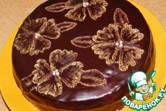 Рецепт: Торт Парижская ночь