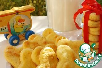 Рецепт: Детское картофельное печенье Лёвушка