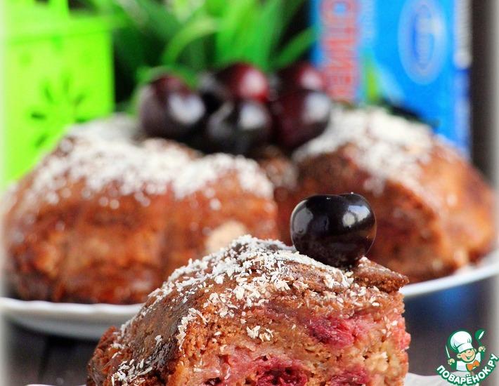 Рецепт: Насыпной шоколадный пирог
