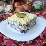 Мясной салат Брутальный