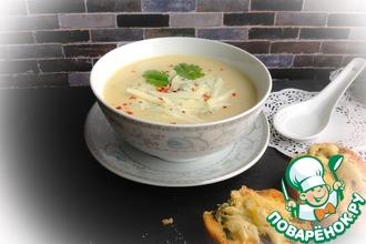 Рецепт: Суп с картофелем и луком-пореем