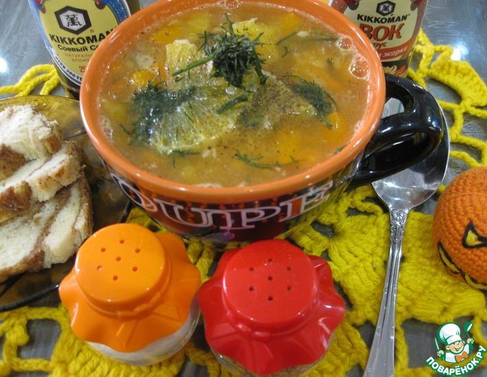 Рецепт: Густой чечевичный суп с апельсинами