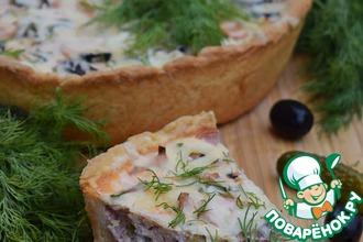 Рецепт: Мясной пирог Солянка