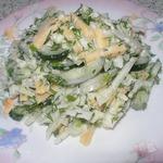 Капустный-огуречный салат Просто так!