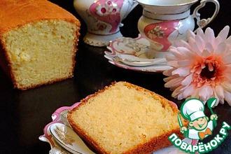 Рецепт: Творожный кекс Идеальный почти по ГОСТу