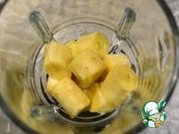 Парфе с бананом и клюквой ингредиенты