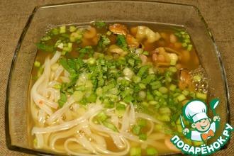 Рецепт: Вьетнамский суп Фо хай сан