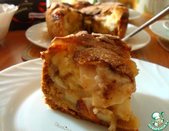 Рецепт: Яблочно-банановый десерт