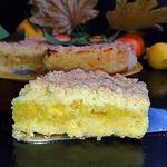 Песочный апельсиново-лимонный пирог Теплая осень