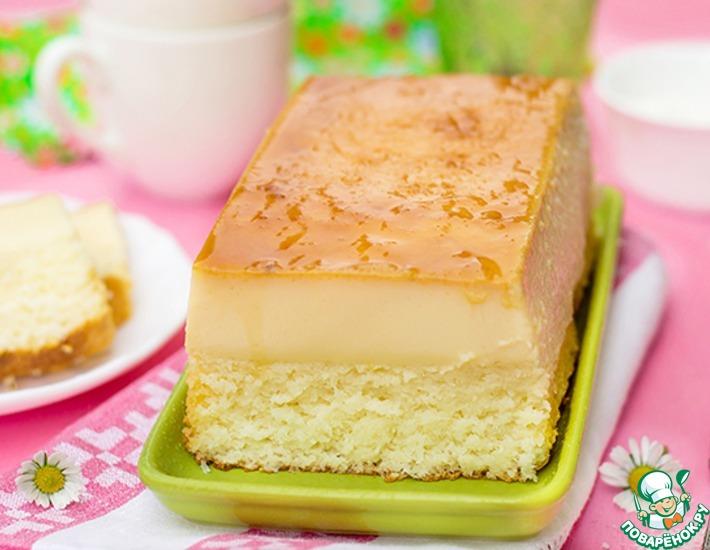Рецепт: Волшебный кокосовый пирог Мартиниканский флан
