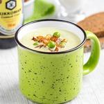 Крем-суп с хрустящим луком