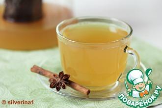 Рецепт: Ароматный чай с шиповником