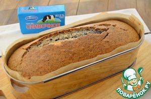 Рецепт Творожный кекс с маком