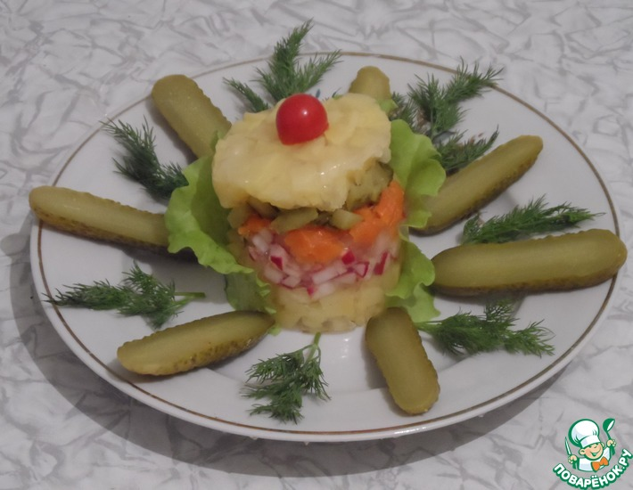 Рецепт: Салат Маркиза на диете