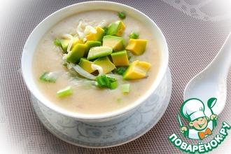 Рецепт: Эквадорский картофельный суп с авокадо