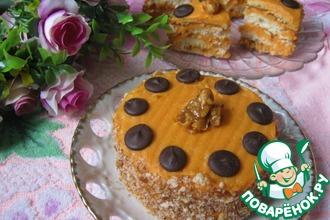 Рецепт: Тыквенные пирожные с орехами