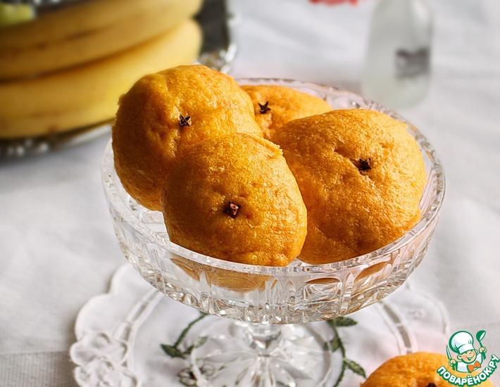 Рецепт: Паровые булочки Апельсины