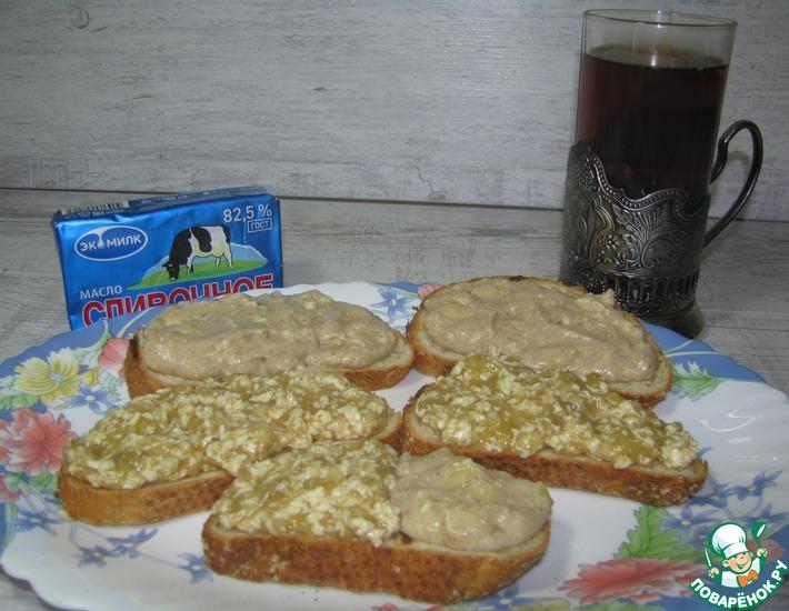 Рецепт: Бананово-масляная намазка «БАгаМА»