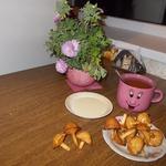 Печенье во фритюре Грибная россыпь