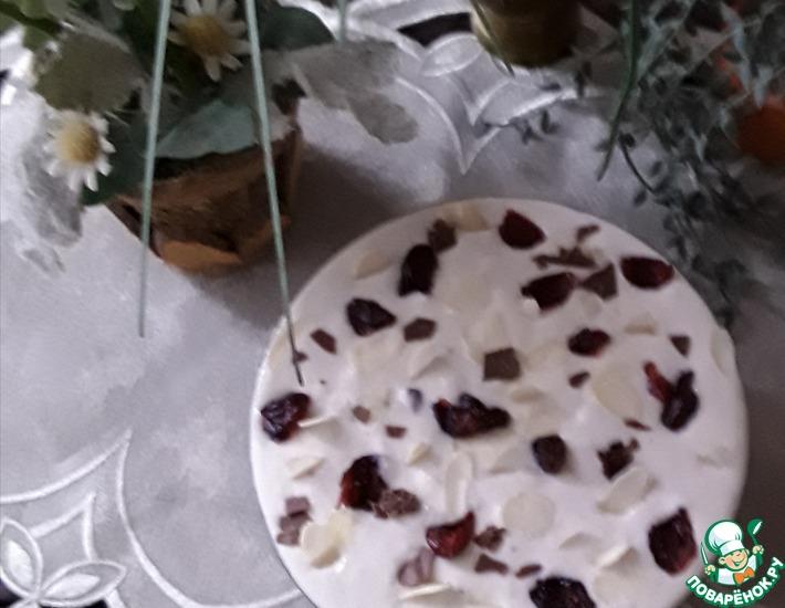 Рецепт: Творожно-йогуртово-банановый десерт