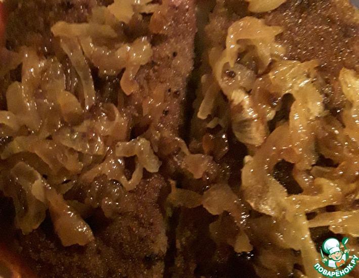 Рецепт: Жареная говяжья печень в панировке