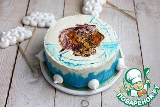 Рецепт: Торт Для мамы