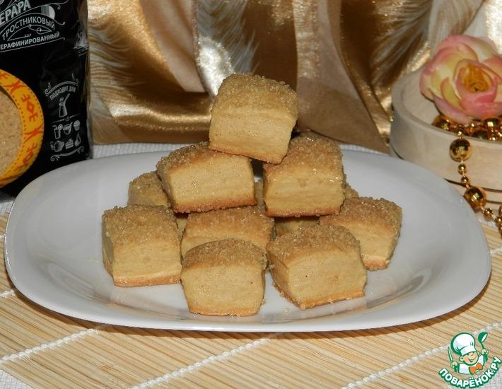 Рецепт: Пряное печенье «Карамельный десерт